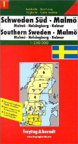 Freytag Berndt Autokarten, Schweden Süd, Malmö (Road Map): Alle Infos bei Amazon