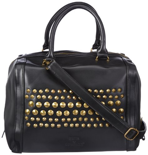 Friis & Company Chicago Movi Everyday Bag 1340416-001, Borsa a mano donna 26x34x24 cm (L x A x P), Nero (Schwarz (Black)), 26x34x24 cm (l x a x p)