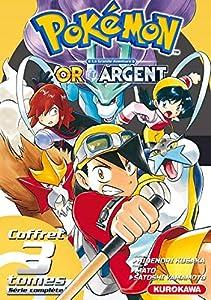 Pokémon Or et Argent Coffret intégrale Tomes 1 à 3