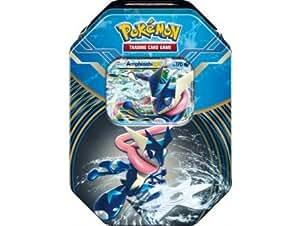 Pokebox amphinobi - carte francaise a collectionner pokemon - boite metal bleue