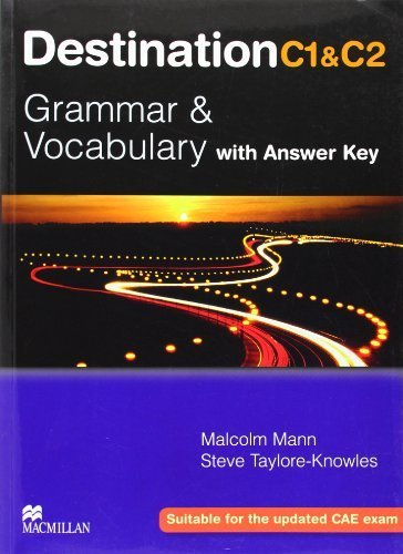 Destination Grammar B2: Student's Book with Key by Malcolm Mann (2008-01-31)