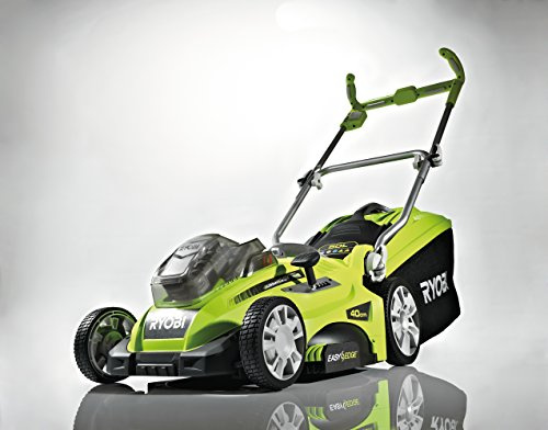 Ryobi RLM18X40H240 ONE+ Cordless Fusion Lawnmower with 2 x 4.0 Ah Batteries and Charger, 18 V