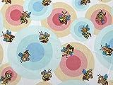 Minerva Crafts Bienen Print Baumwolle Popeline Kleid Stoff