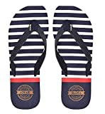 eNaR Women's Navy Color Thong-Style Slippers/Flip Flops (Size-7)