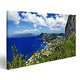 bilderfelix® Bild auf Leinwand Capri Insel,