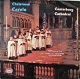 Canterbury Cathedral Choir Christmas Carols LP Abbey XMS670 EX/EX 1970s with Philip Moore on organ