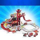 Juguetes para Bebés FEI Niño Gran coche tridimensional coche de gran altura Park Toy montar la pista de aleación coche Combinación desmontaje herramienta Temprano Educación (Color : 3)