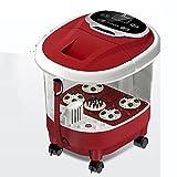 Massage Spa Baignoire de pieds Pied de massage automatique Baignoire de pied Baignoire de massage à domicile Balai de pied de chauffage électrique à température constante (2 en option) (38 * 44 * 35cm) Massagiste à rouleaux ( Couleur : B )
