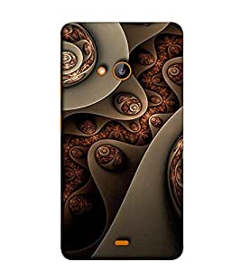 Fuson Designer Back Case Cover for Nokia Lumia 730 Dual SIM :: Nokia Lumia 730 Dual SIM RM-1040 (Colourful Designer Theme)