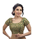 Sonu Creation Women'S Saree With Blouse Piece Blouse (Br 03_Green_38)