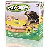 Tomill jouet pour chat sous Housse en nylon Tissu Moving Mouse Jeu interactif Meow Kitty Funny Luxe Creative pour animal domestique jouet pour chiot
