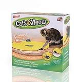 tomill Cat Spielzeug unter Cover Nylon Stoff beweglichen Maus Interaktives Spielen Meow Kitty Funny Luxus Creative Pet Puppy Spielzeug