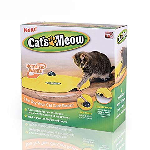 Tomill jouet pour chat sous Housse en nylon Tissu Moving