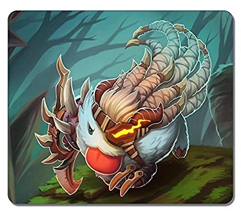 Customized Rectangle Non-Slip Rubber Large Mousepad Rengar League Of Legends Poro Champion Water Resistent Gaming Mouse Pad Large Mousepad Gaming Pad Large Mouse Pads
