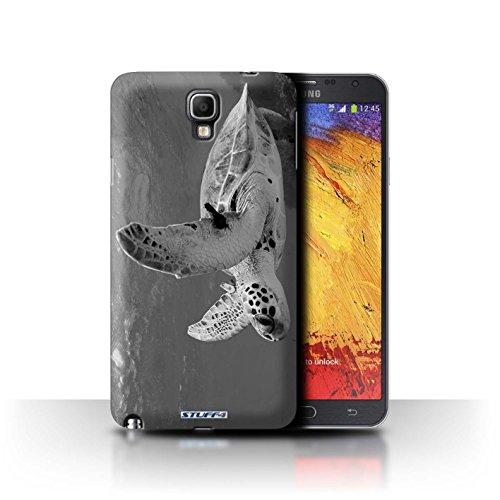 Stuff4 Hülle / Hülle für Samsung Galaxy Note 3 Neo / Schildkröte Muster / Zoo-Tiere Kollektion