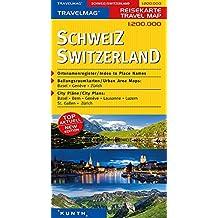 Cartes de voyage Suisse 1 : 200 000