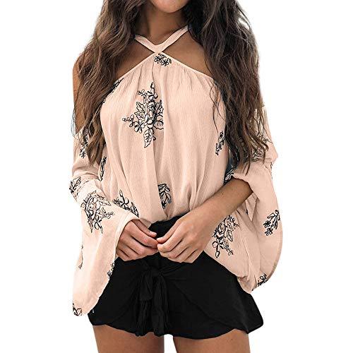 Yvelands T Shirt Damen Sommer Bluse Damen Weste -