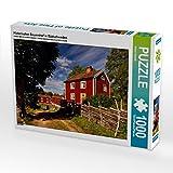 Historischer Bauernhof in Südschweden 1000 Teile Puzzle quer