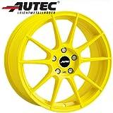 Aluminio Llanta autec Wizard BMW 3Compact [E36] 3/CG 7.5x 17Atomic Yellow