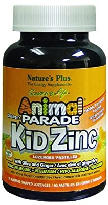 Nature's Plus Animal Parade Kidzinc - 90 - Lozenge by Nature's Plus