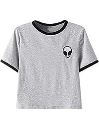 Mujer Amazon Camisetas Alien Ropa es qnZPwf