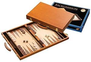 Philos-Spiele 1104 - Backgammon en maletín portátil Importado de Alemania