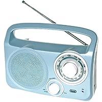 Trevi Retro AM / FM Radio. Mains / Battery (Blue)
