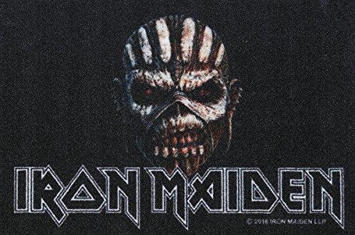 Iron Maiden Fussmatte Book Of Souls Fußmatte Schmutzmatte Türabstreifer Türmatte Fußabstreifer Teppich doormat -