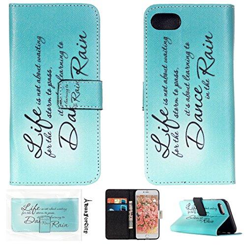 HuaForCity® iphone 7 Custodia in Pelle PU Ultra Sottile Smartphone