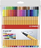 Fineliner - STABILO point 88-40er Pack - 40 Farben