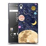 Head Case Designs Moon Marble Galaxy Soft Gel Case for Sony