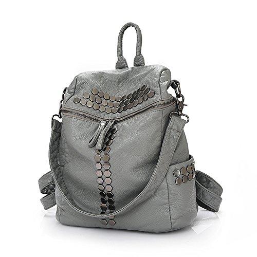 rivetto dual-purpose borsa a tracolla/Versatile borsa a tracolla/Casual chic-A B