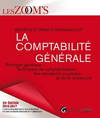 La Comptabilité générale 2016-2017
