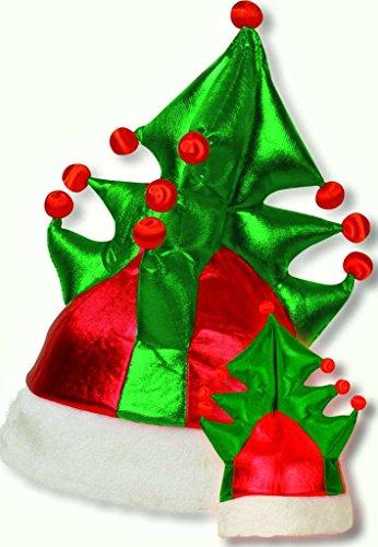 Tannenbaumhut, blinkend, Weihnachten, Mottoparty, Batteriebetrieben