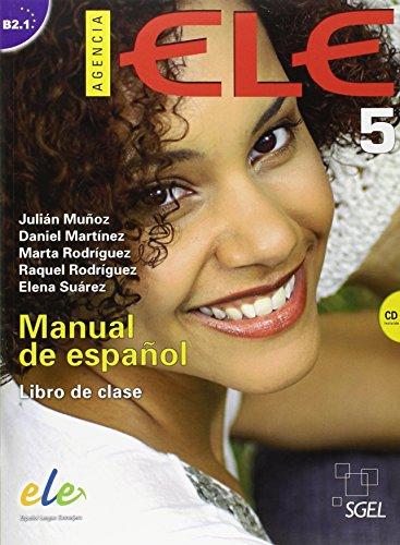 Agencia ELE 5 libro de clase + cd