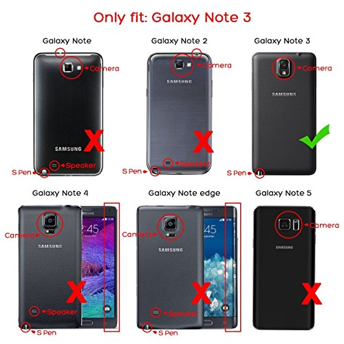 custodia pelle note 3 samsung