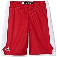 adidas Y Rev Crzy Ex S, Pantalone Bambino, Rosso (Rojpot/Bianco), 164