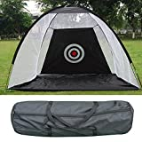 Portables en noir et blanc 10'Golf frappant pratique net en intérieur et praticiens de golf à l'extérieur 3 mètres / Free New Bag