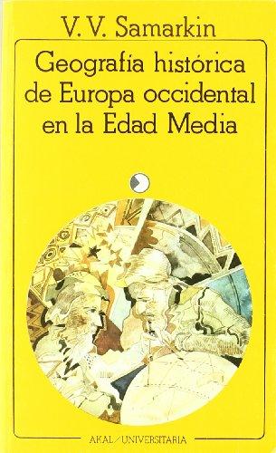 Descargar Libro Geografía histórica de Europa occidental en la Edad Media (Universitaria) de V. V. Samarkin