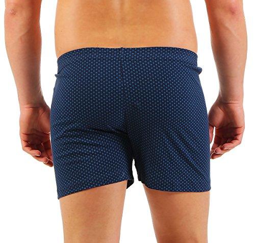 3er Boxershorts Herren Unterwäsche Unterhosen Trunks Nr. 451 (Farben können variieren) ( Mehrfarbig / 13 (XXXXXL) ) - 4