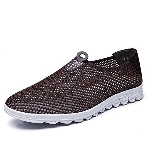 Été casual chaussures/Coupe-bas chaussure avec mesh respirant/Chaussures de chiffon net D