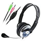 Best eForCity Computer Games - Insten PC Computer Headphone Headset Microphone For MSN Review