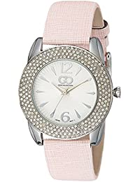Gio Collection Analog White Dial Women's Watch - G0053-03