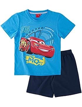 Disney Cars Chicos Pijama mangas cortas - Azul