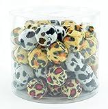 60 St. Spielball Plüschball rasselt Katzen Katzenspielzeug plüsch Ball Bälle