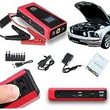 Indigi® más pequeño más potente estación banco de energía portátil coche vehículo Jump Starter (plata)