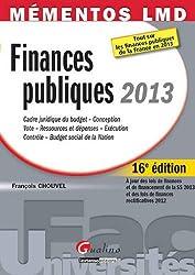 Mémentos LMD - Finances publiques 2013