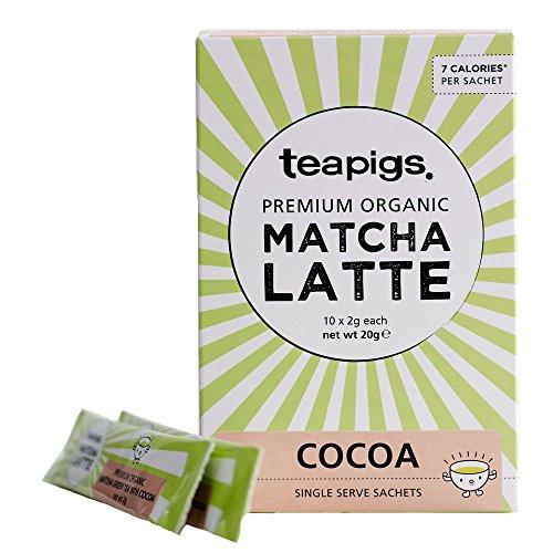 A photograph of Teapigs matcha latte