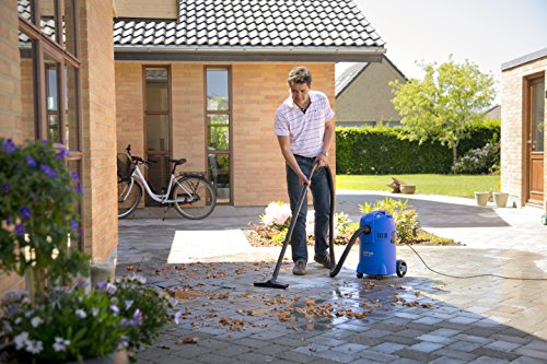 Nilfisk Buddy II 18 Wet and Dry Vacuum Cleaner – Indoor & Outdoor Cleaning – 18 Litre Capacity with 1200 W Input Power…