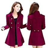 Best Winter Coats For Women - Eachbid 2017 Fashion Women Korean Long Coat Jacket Review